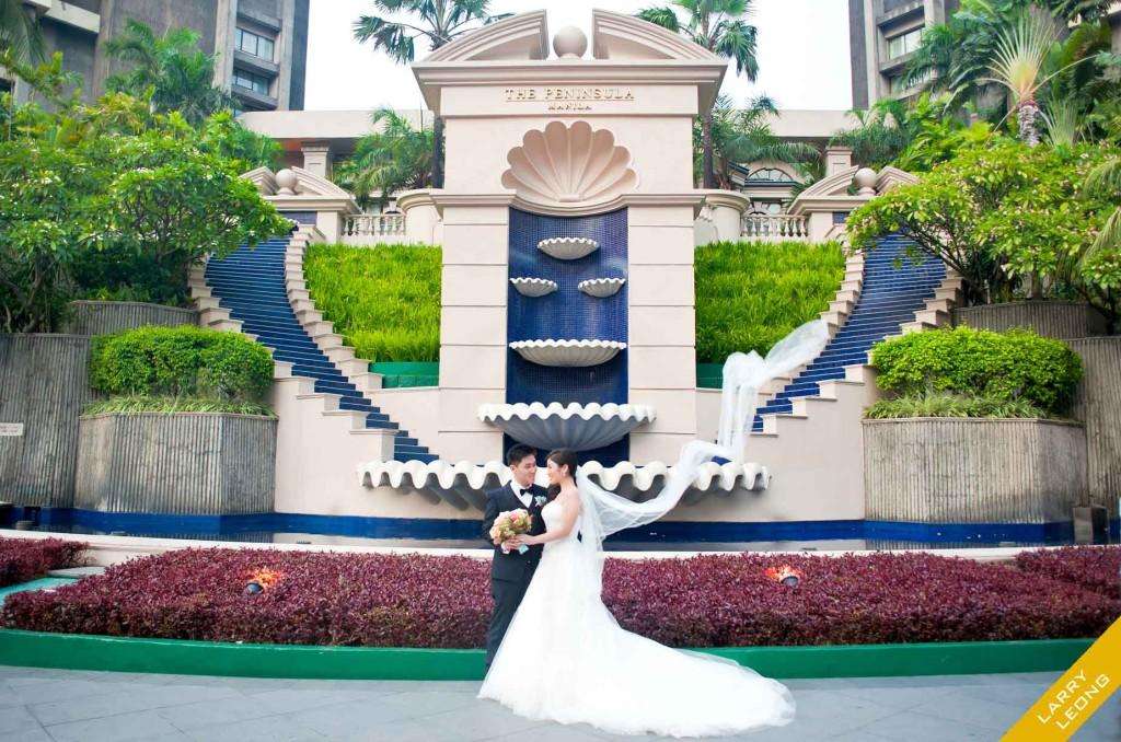 peninsula manila wedding hotel venue