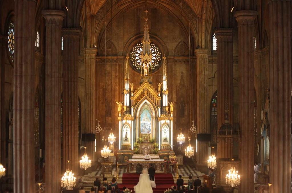 weddings - san sebastian church