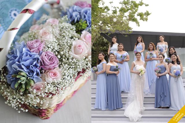 wedding flowers makati prenup