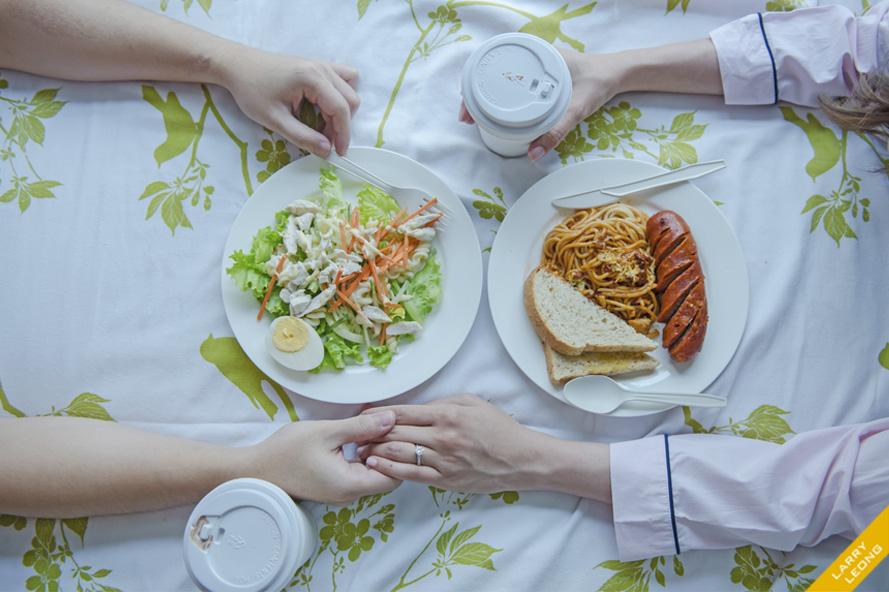 food prenup engagement