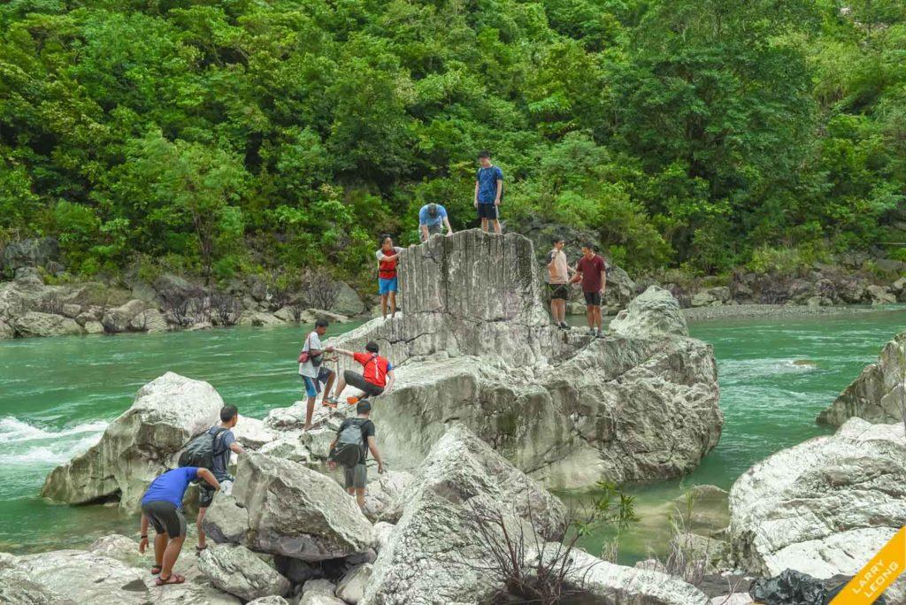 river hike trek rizal