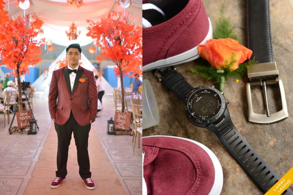 groom wedding designer