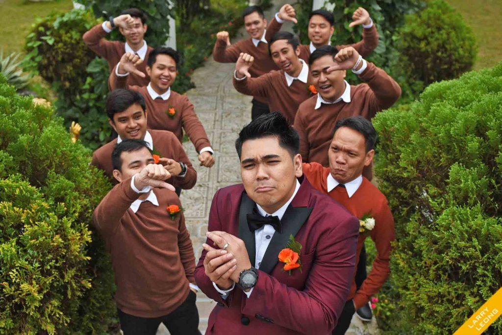 groomsmen wedding location