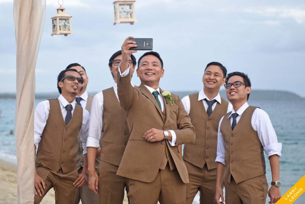 selfie groomsmen batangas