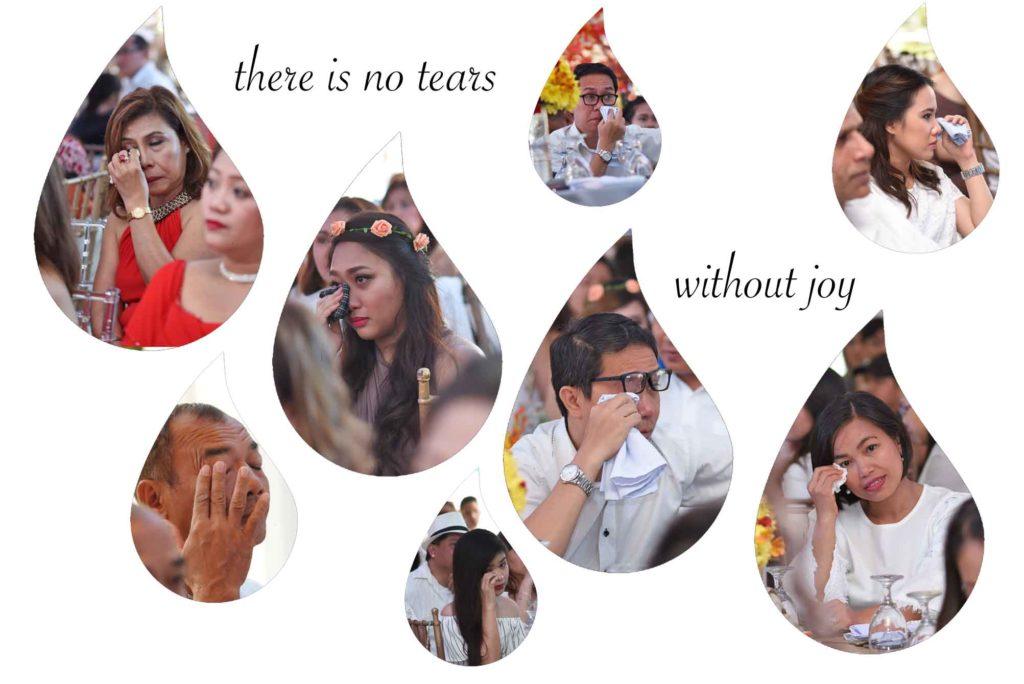 tears of wedding