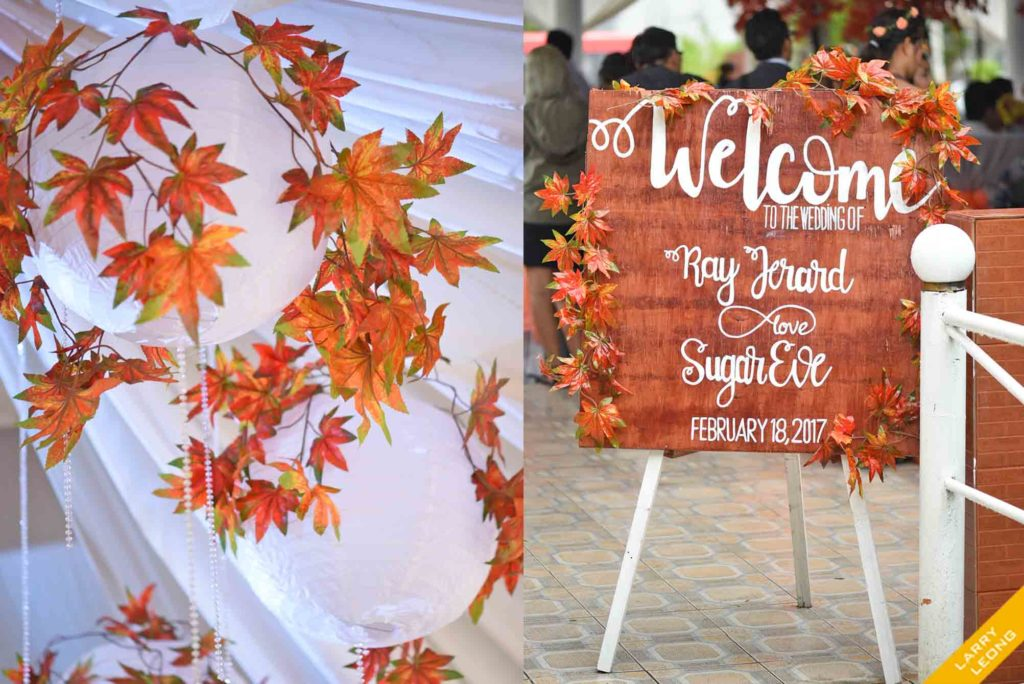 wedding autumn concept