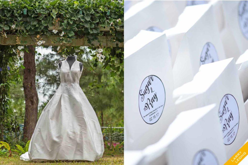 wedding candy details