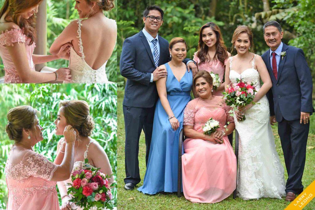 wedding family bride