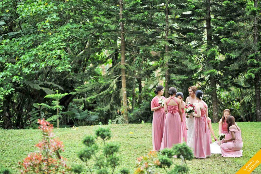 wedding tagaytay bridesmaid