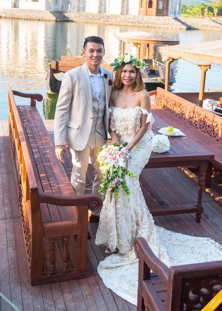 wedding gown designer larry leong