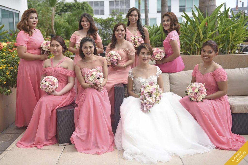 bridesmaid gown design