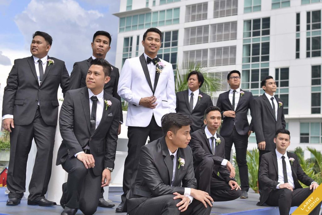 groomsmen tuxedo