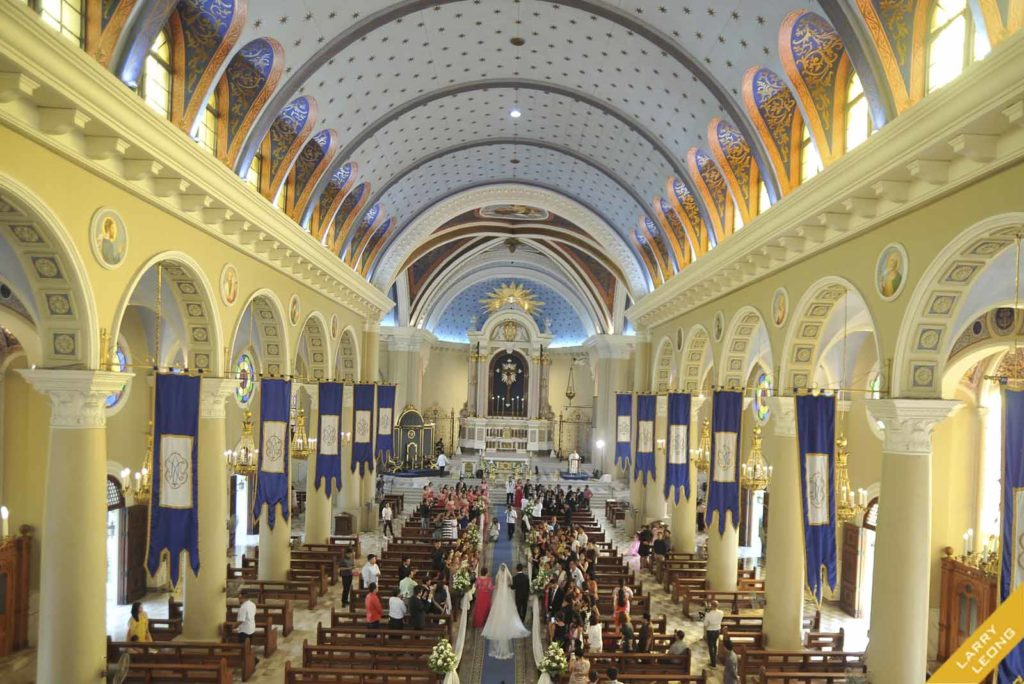 immaculate conception church cubao