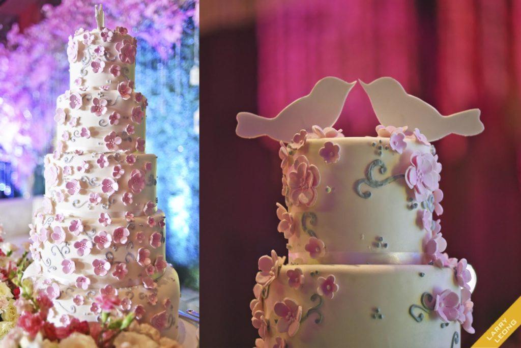 novo hotel wedding cake