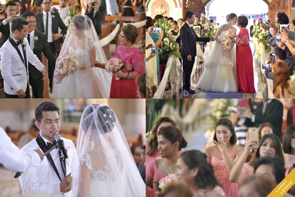 wedding church moments