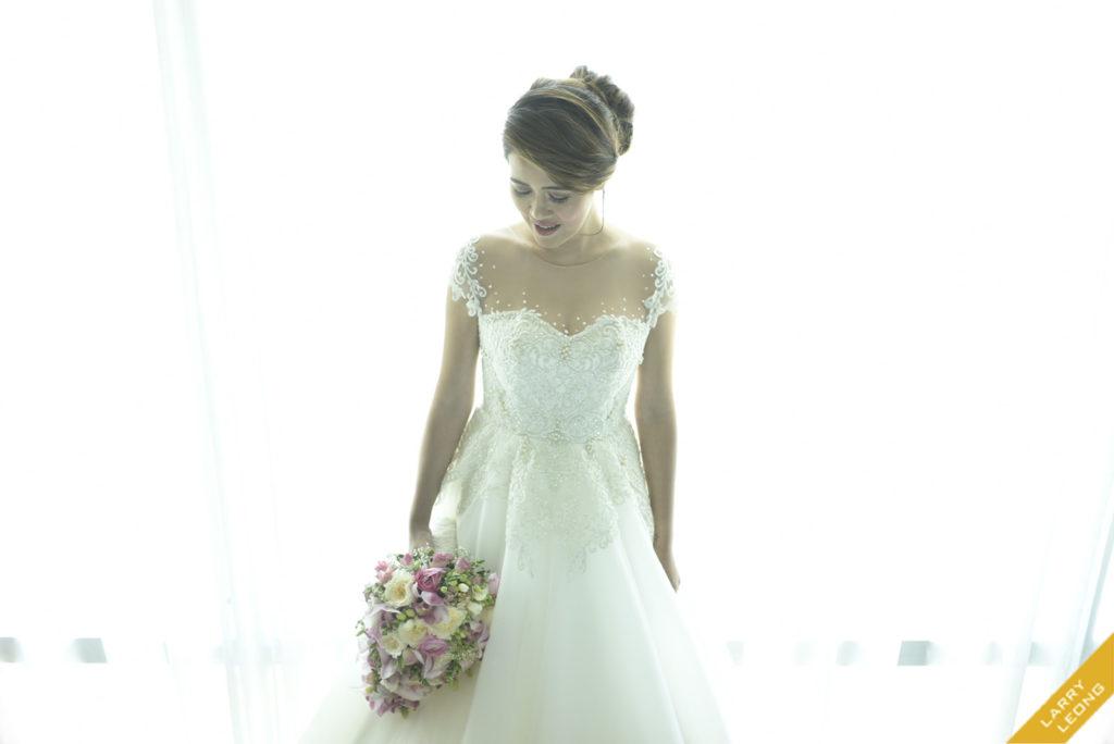 wedding gown bride