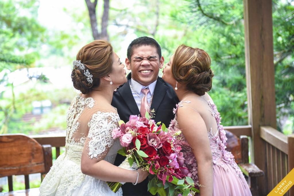 bride funny reaction