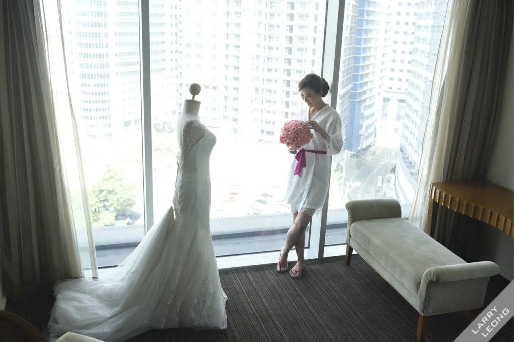 bride details gown