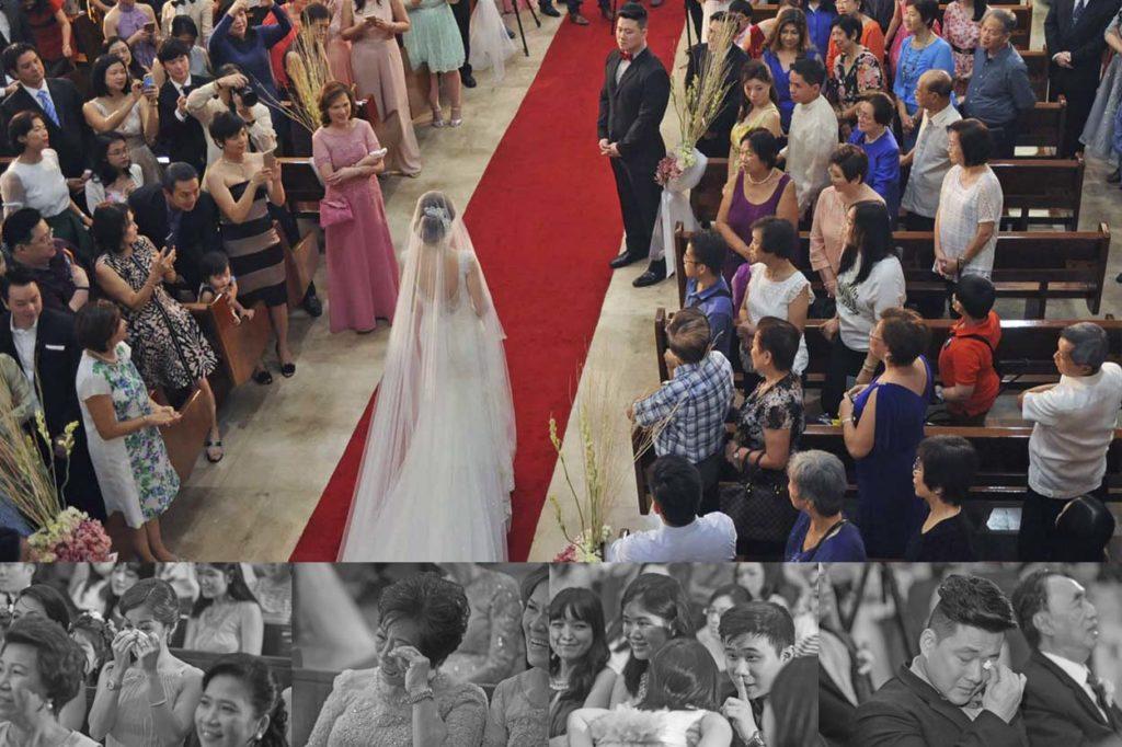 bride walk best gowns