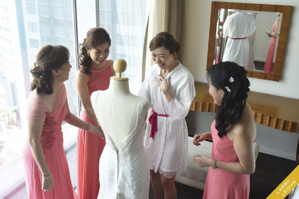 bridesmaid fun dress
