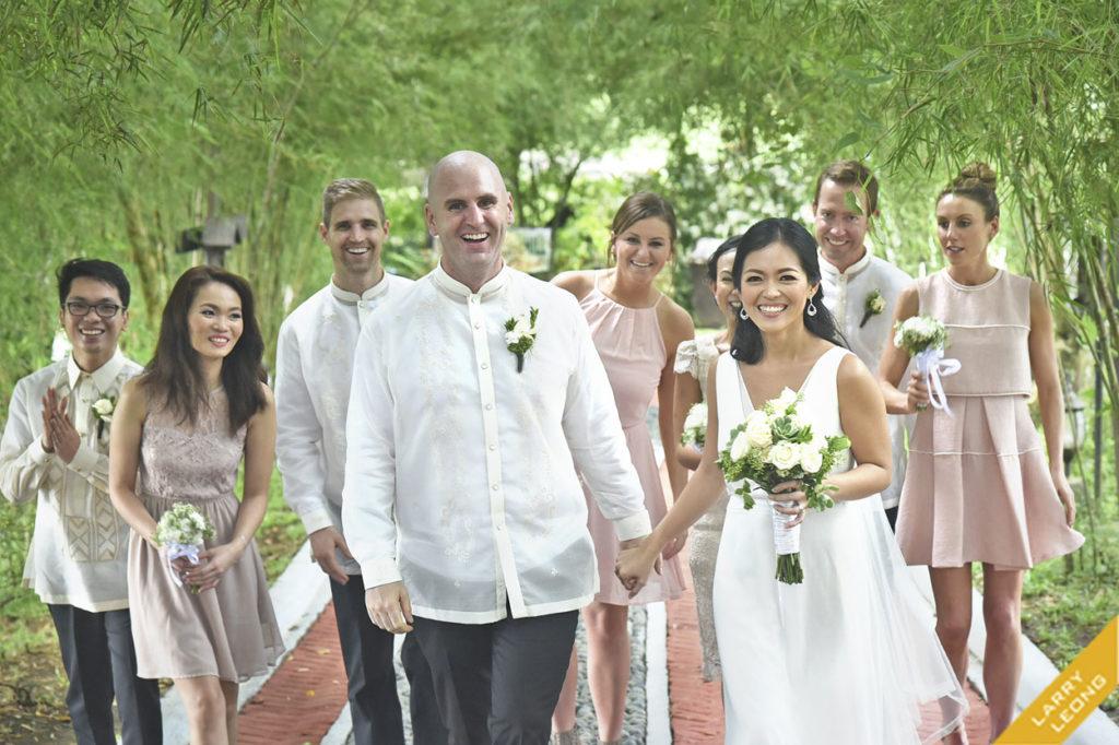 entourage gowns tagaytay batangas weddings