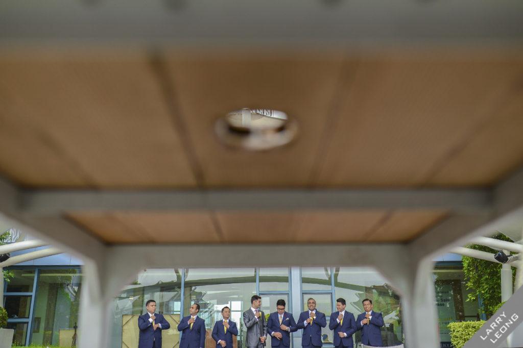 groomsmen entourage