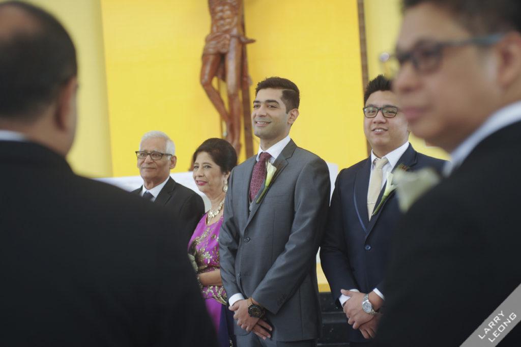 love groom crying