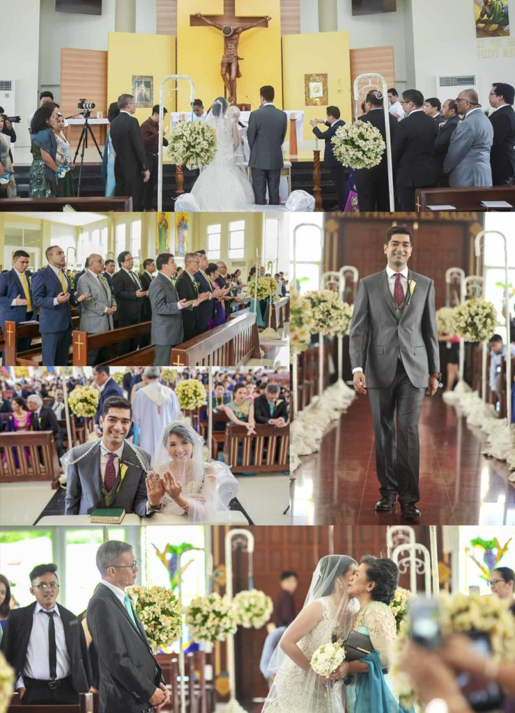 marriage ceremony alabang church
