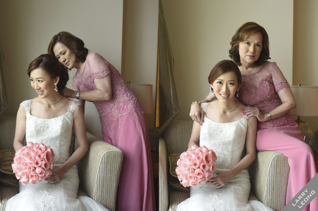 mother and daughter weddings