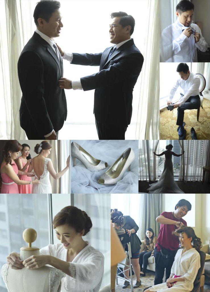 oakwood wedding hotel preparations