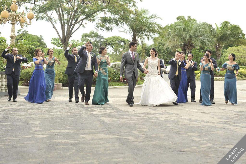 wedding entourage manila