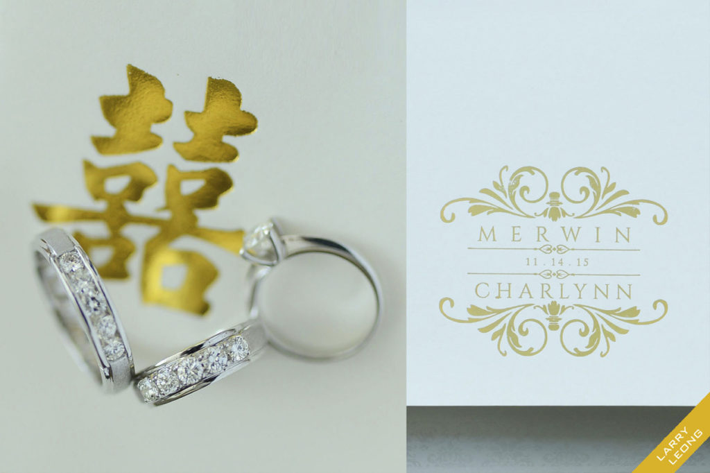 wedding rings invites