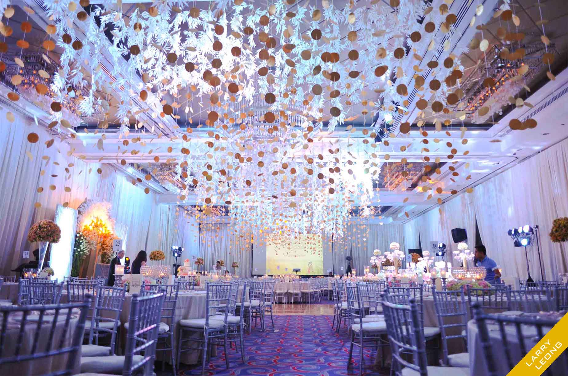Beautiful Wedding Reception Decorations Manila Wedding